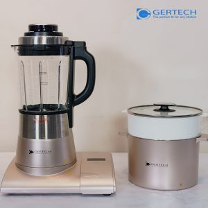 Máy xay nấu độ ồn thấp kết hợp nồi nấu GERTECH GT-006 0