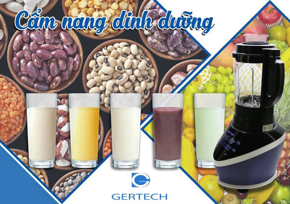 14 công thức sữa hạt và sinh tố